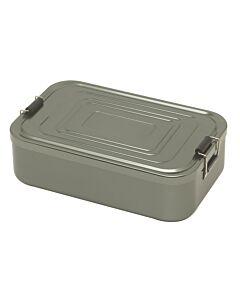 Küchenprofi lunchbox 23 x 15 cm aluminium antraciet