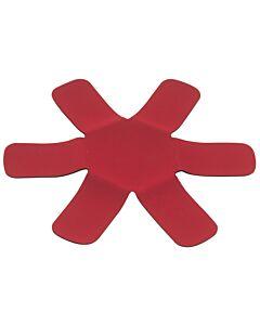 Il Cucinino panbeschermer ø 34 cm neopreen rood