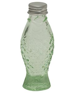 Serax Fish & Fish fles met dop 50 ml glas groen