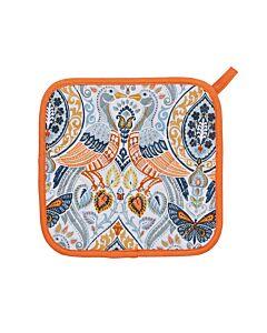 Ulster Weavers Cotswold pannenlap oranje