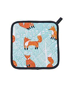 Ulster Weavers Foraging Fox pannenlap blauw