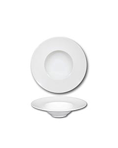 Oldenhof Napoli diep bord ø 27,5 cm aardewerk wit