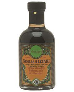 Nicolas Alziari oude balsamico-azijn fles 200 ml