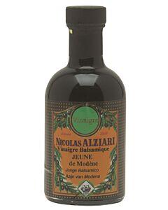 Nicolas Alziari jonge balsamico-azijn fles 200 ml