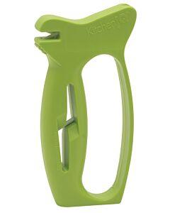 KitchenIQ 10-second messen- en scharenslijper kunststof groen