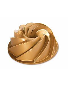 Nordic Ware Heritage Bundt tulband ø 25,5 cm gietaluminium goudkleurig