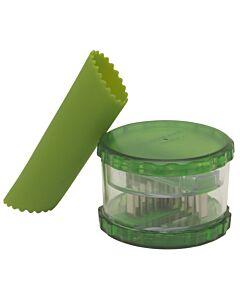 Westmark knoflooksnijder set kunststof groen