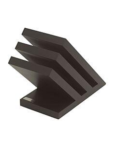 Artelegno Venezia magnetisch messenblok 28 cm hout zwart