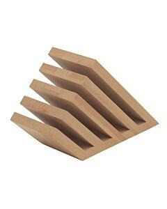 Artelegno Venezia magnetisch messenblok 5 elementen hout blank