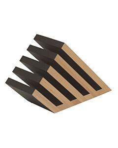 Artelegno Venezia magnetisch messenblok 5 elementen hout zwart-blank