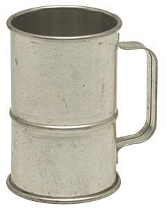 Oldenhof koffieloodje 6 cm vertind staal