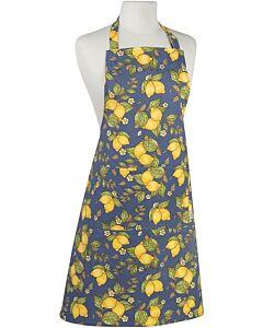 Now Designs Provencal Lemons schort 85 x 70 cm katoen blauw/geel