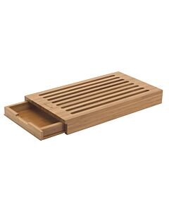 Deglon broodplank met kruimelvanger 41 x 23 cm bamboe