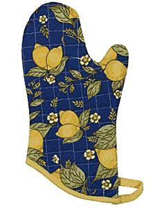 Now Designs Provencal Lemons ovenwant 30 x 13 cm katoen blauw/geel
