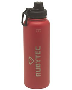Rubytec Shira thermosdrinkfles 1,1 liter rvs rood