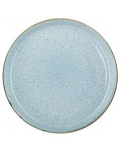 Bitz dinerbord ø 27 cm aardewerk mat groen / glanzend lichtblauw