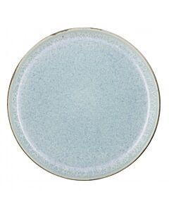 Bitz ontbijtbord ø 21 cm aardewerk mat groen / glanzend lichtblauw