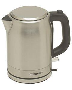 Cloer waterkoker 1 liter rvs mat