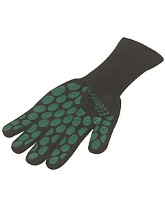 Big Green Egg thermische barbecuehandschoen silicone zwart