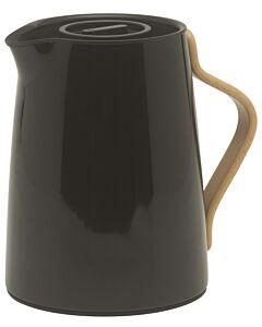Stelton Emma thermoskan 1 liter rvs zwart