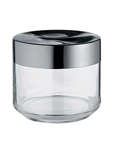 Alessi Julieta voorraadpot 500 ml rvs glas