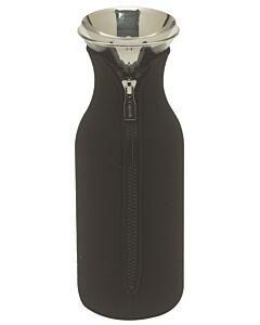 Eva Solo Fridge karaf 1 liter glas zwart 3-delig