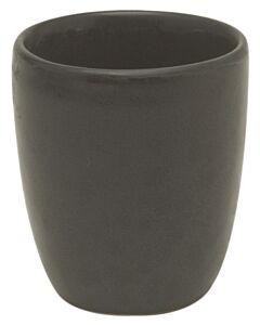 Bitz espressobeker 80 ml aardewerk zwart