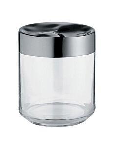 Alessi Julieta voorraadpot 750 ml rvs glas