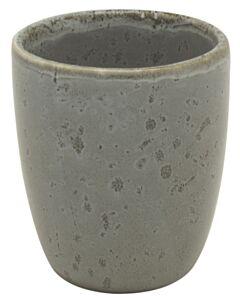 Bitz espressobeker 80 ml aardewerk grijs