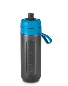 Brita Fill & Go Active waterfilterfles 600 ml kunststof grijs-blauw