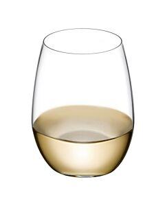 Nude Pure witte wijnglas 250 ml kristalglas 4 stuks