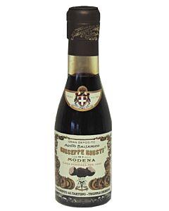 Giuseppe Giusti balsamico-azijn met truffel 12 jaar 100 ml in champagnefles