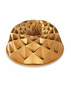 Nordic Ware Jubilee tulband bakvorm ø 24 cm gietaluminium goudkleurig