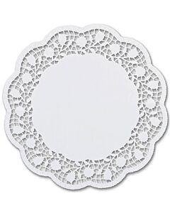 Städter taartonderzetters rond ø 22 cm wit 6 stuks
