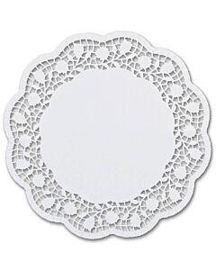 Städter taartonderzetters rond ø 28 cm wit 6 stuks
