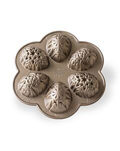 Nordic Ware Ornamental Egg bakvorm 6 eieren aluminium