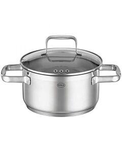 Rösle Charm kookpan met glasdeksel ø 20 cm rvs
