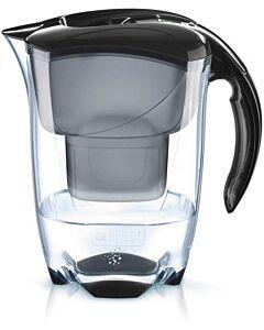 Brita Elemaris XL waterfilterkan 3,5 liter kunststof zwart