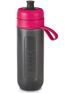Brita Fill & Go Active waterfilterfles 600 ml kunststof grijs-roze