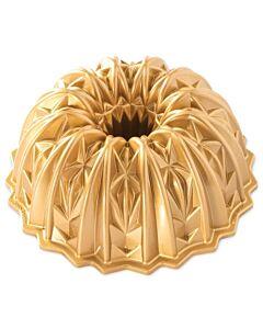 Nordic Ware Cut Crystal tulbandvorm aluminium goudkleurig
