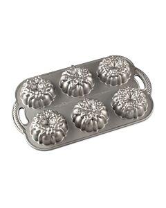 Nordic Ware Wreathlettes bakvorm 6 stuks aluminium