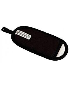 Le Creuset steelgreep hoes 18 x 8 cm textiel zwart