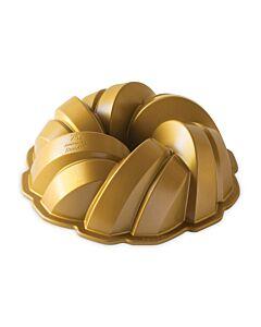 Nordic Ware Braided Bundt tulband ø 26 cm gietaluminium goudkleurig
