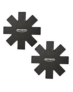 Demeyere Alu Pro pannenbeschermer ø 40 cm zwart 2 stuks