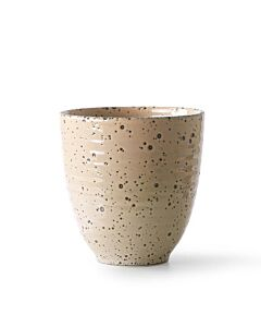 HK Living Gradient mok 8,5 x 9 cm aardewerk beige