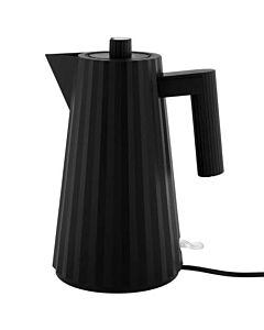 Alessi Plissé waterkoker 1,7 liter kunststof zwart