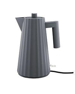 Alessi Plissé waterkoker 1,7 liter kunststof grijs