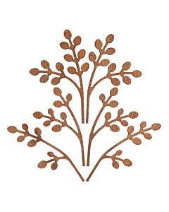 Alessi The Five Seasons geurverdelerbladen Brrr mahonie bruin