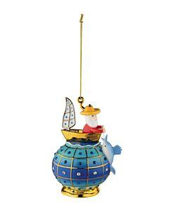 Alessi FaberJorì Il Vecchio e il Mare kerstbal ø 8 cm porselein