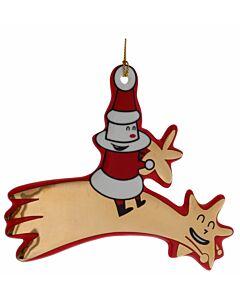 Alessi kerstboom hanger  'Catch a falling star' porselein